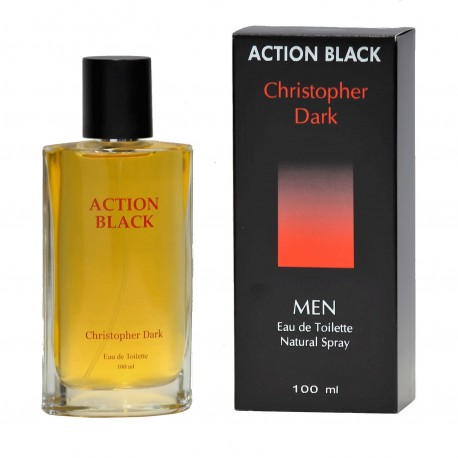 Action Black eau de toilette men 100 ml Christopher Dark
