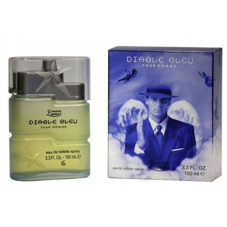 Diable Bleu por homme  eau de toilette 100 ml Creation Lamis