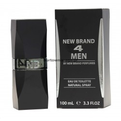 NEW BRAND 4 MEN eau de toilette 100ml New Brand