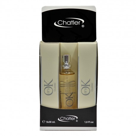 IT'S OK CLASSIC eau de parfum 5x30 ml Chatler