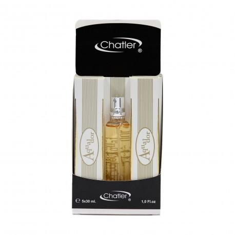 Aquador eau de parfum 5x30 ml Chatler