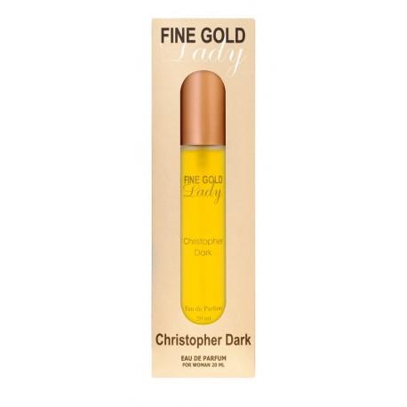 Fine Gold Lady eau de parfum for women 20 ml Christopher Dark