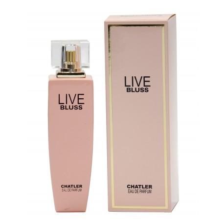 Live Bluss eau de parfum 100 ml Chatler