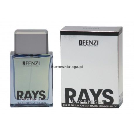 DAY&NIGHT RAYS eau de parfum for men 100 ml J'Fenzi
