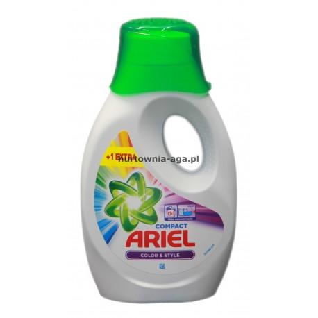 Ariel compact color&style  715 ml -  13 prań