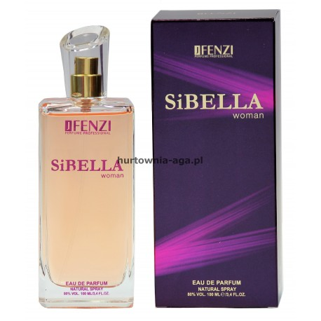 SiBELLA woman eau de parfum  100 ml J' Fenzi