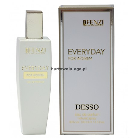 EVERYDAY for women eau de parfum 100 ml J' Fenzi