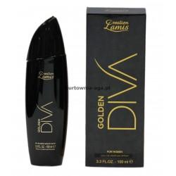 DIVA GOLDEN  for women eau de parfum 100 ml Lamis