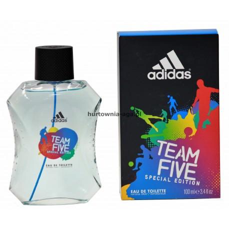 Adidas TeamFive Spacial Edition  eau de toilette 100 ml Coty