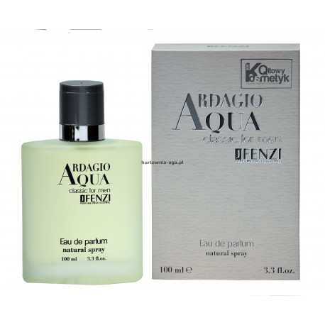 Ardagio Aqua classic for men eau de parfum 100 ml J' Fenzi
