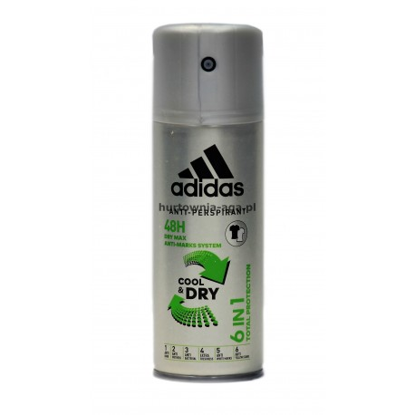 Adidas deo body spray cool&dry 6 in1 150 ml Coty