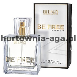 BE FREE women eau de parfum 100 ml J'Fenzi