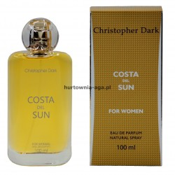 Costa Del Sun for woman 100 ml Christopher Dark
