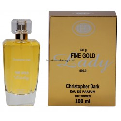 Fine Gold Lady eau de parfum for women 100 ml Christopher Dark