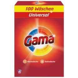 Proszek Gama Universal (Vizir) 100 prań - 6,5 kg