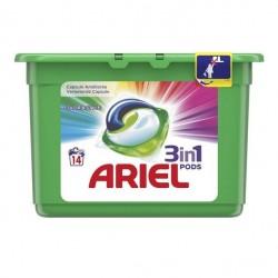 Ariel Kolor 3in1 kapsułki do prania - 14 szt
