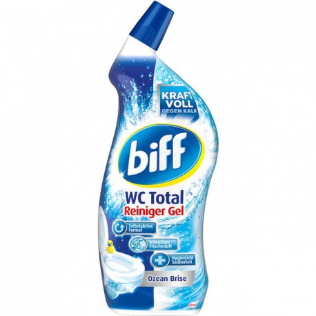 Żel do WC Biff Total Gel Ocean Brise -750 ml