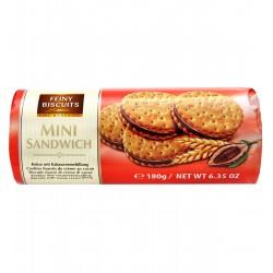 Mini Herbatniki z nadzieniem czekoladowym - 180g