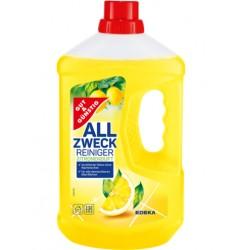Płyn do mycia podłóg  G&G All Zweck Cytrynowa świeżość 1 l - Edeka