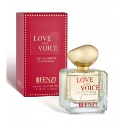 Love and Voice eau de parfum 100 ml J' Fenzi