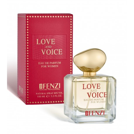 Love and Voice eau de parfum 100 ml J' Fenzi