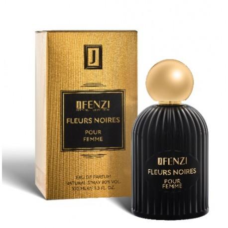 Fleurs Noires pour femme eau de parfum 100 ml