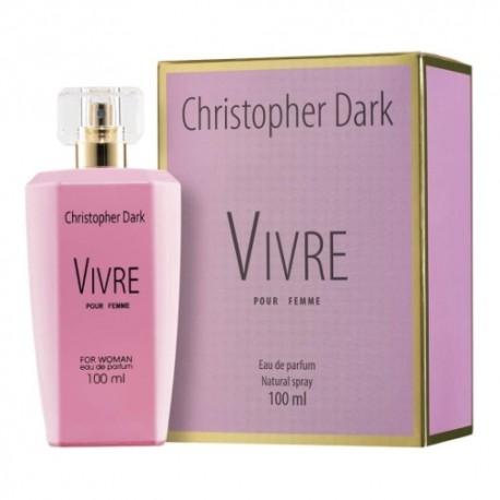 VIVRE pour femme eau de parfum 100 ml Chistopher Dark
