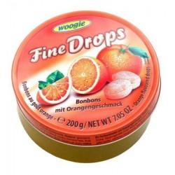 Pomarańczowe landrynki w puszcze - 200 g