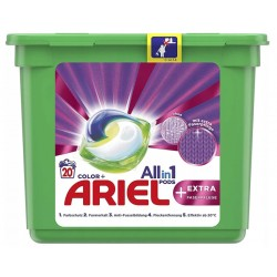 Kapsułki do prania Ariel All-in-1 Kolor 20szt. Niemieckie