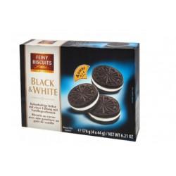 Feiny Biscuits Ciasteczka Black & White Oreo 176g.