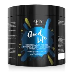 Oczyszczający Peeling  do ciała Good Life 700g- Apis
