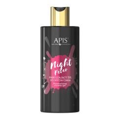Nawilżający Żel do mycia ciała Night Fever  300ml- Apis