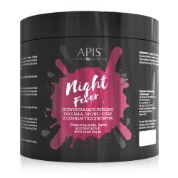 Oczyszczający Peeling  do ciała Night Fever 700g- Apis