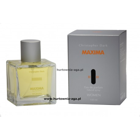 Maxima eau de parfum 100 ml Christopher Dark