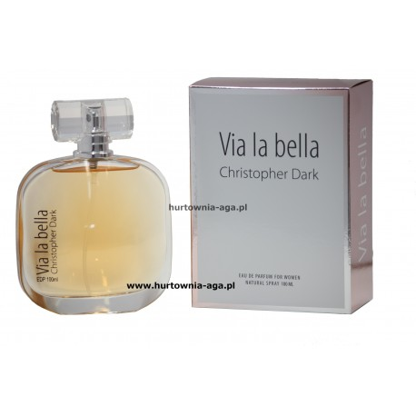 Via la bella eau de parfum 100 ml Christopher Dark