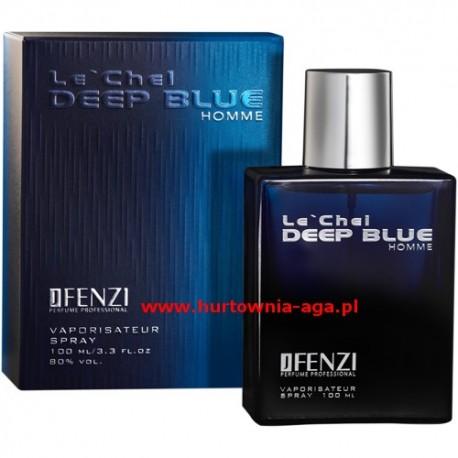 Le' Chel DEEP BLUE HOMME eau de parfum for men 100 ml J' Fenzi