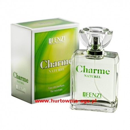 Charme naturel eau de parfum  for woman 100 ml J' Fenzi