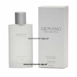 GIOVANO eau de toilette men 100 ml Christopher Dark