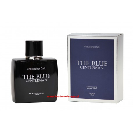 THE BLUE Gentleman eau de parfum 100 ml  Christopher Dark