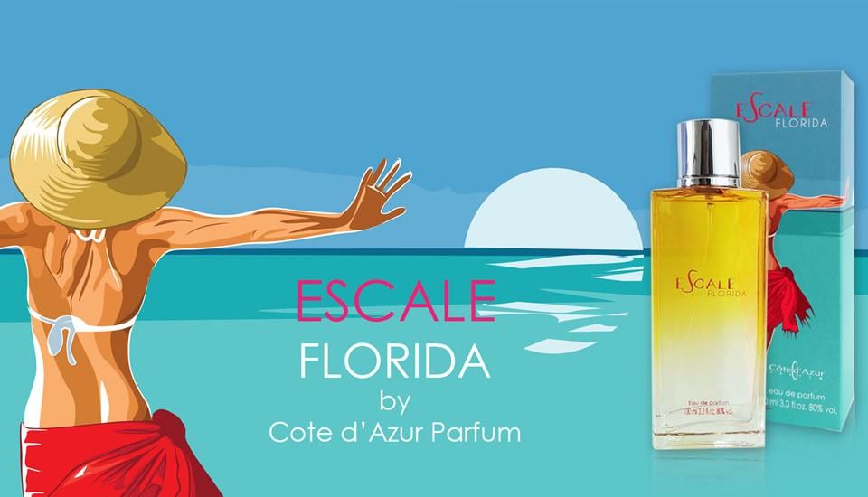 Escale Florida eau de parfum 100 ml Cote Azur