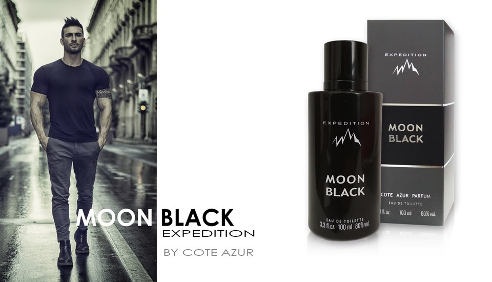 MOON BLACK Expedition eau de toilette 100 ml Cote Azur