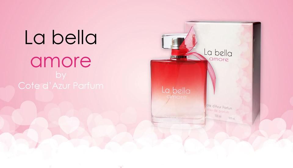 La bella amore eau de parfum 100 ml Cote Azur